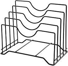 Lid Holder Storage Lid Pan Cupboard Pantry Rack