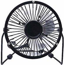 Lidylinashop Desk Fan Silent Battery Desk Fan