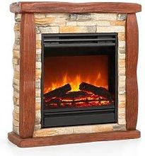 Lienz Electric Fireplace 1800W Stone Decor