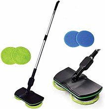 LIERSI Wireless Electric Rotary Mop, Rechargeable