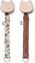 Liewood - Pack of 2 Coral Floral Mix Cotton Barry