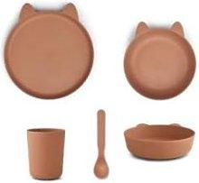 Liewood - Paul Tableware Set Rabbit Tuscany Rose