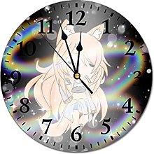 Life Round Wall Clock Silent Non Ticking,Fashion