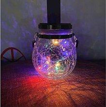 lifemet Solar Outdoor Garden Lamp Hanging Fairy