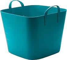 LifeStory 34218 Tub Basket 40 L Blue