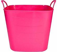 LifeStory 34237 Tub Basket 40 L Pink