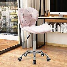 Lifetech Velvet Home Office Chair Ergonomic Desk