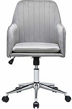 Lifetech Velvet Office Desk Chair with Arms