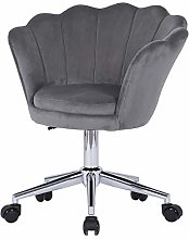 Lifetech Velvet Swivel Desk Chairs Computer Chairs
