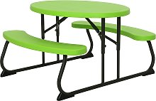 Lifetime Children's Oval 4 Seater Picnic Table