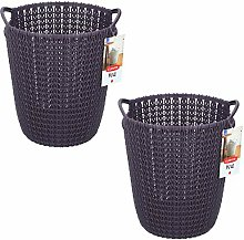 Lifetime Kitchen Set of 2 Curver Knit Collection