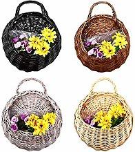 Lifeyz Birds Nest Wall Hanging Basket Wicker