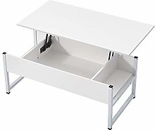 Lift Up Coffee Table Writing Desk With Storage