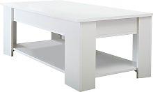 Lifting Coffee Table - White