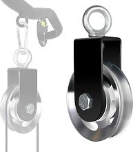 Lifting Pulley, Cable Pulley 90mm with U Mounting