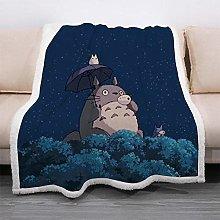LIFUQING Sofa Cover Cartoon Totoro Camping Soft
