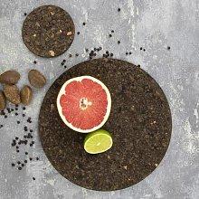 LIGA - Black Smoked Cork Trivet