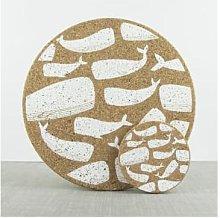 LIGA - Cork Whale Placemat