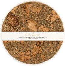 LIGA - Smoked Cork Trivet - Medium