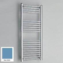 Light Blue 1200mm x 400mm Straight 22mm Towel Rail