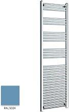 Light Blue 1600mm x 400mm Straight 22mm Towel Rail