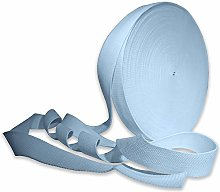 Light Blue 38mm Cotton Webbing Tape Strapping 1.5