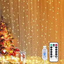 Light curtain 3x3m LED light chain Curtain LED