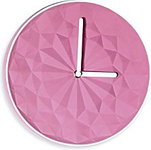 Light-Glow Pink Round Clock-CL004, Made in