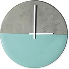 Light-Glow Round Clock-CL002, Made Battery-powered