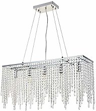 Light Lamp Luxury Crystal Chandelier Ceiling