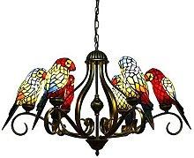 Light Lamp Vintage Tiffany Chandelier Lantern