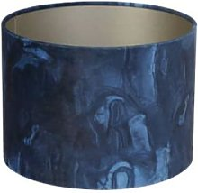Light & Living - Blue Lampshade Marble - blue |
