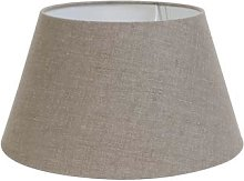 Light & Living - Dark Linen Lampshade