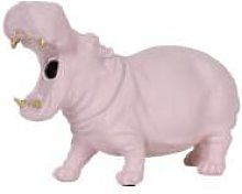 Light & Living - Dusty Pink Hippo Table Lamp -