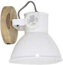 Light & Living - Elay Plug In Wall Light White