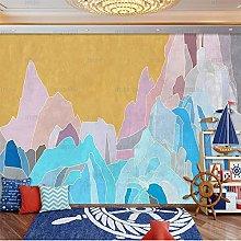 Light Luxury Marbling Wallpaper American Jazz