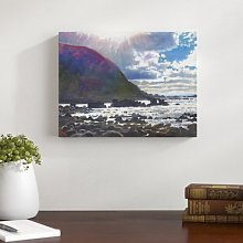 Light Rolling in, 2013, - Wrapped Canvas Art Print
