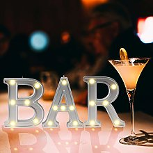 Light Up Bar Sign LED Illuminated Marquee Signs