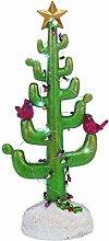Light Up Cactus Christmas Tree Resin Standard