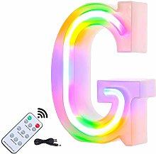 Light up Letters, LED Sign Alphabet Letters