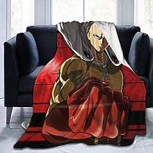 Light Weight Plush Blanket,Anime One Punch-Man