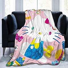 Light Weight Plush Blanket,Hello Kit-Ty Travel