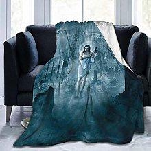 Light Weight Plush Blanket,Resident Evil Travel