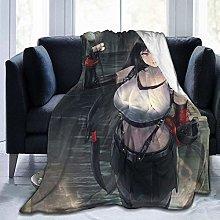 Light Weight Plush Blanket,Tifa Warm Bed Blanket