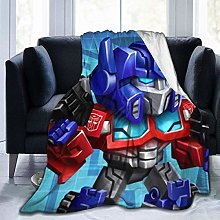 Light Weight Plush Blanket,Trans-Formers Travel