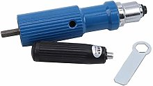 LIGHTBLUE Electric Rivet Gun Adapter Electric Tool