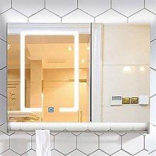 Lighted Vanity Bathroom Mirror, Intelligent Anti