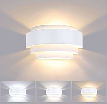 Lightess 12W Led Wall Light Indoor 3 Colors