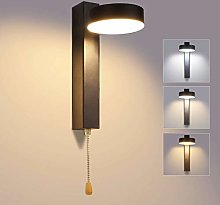 Lightess 12W Led Wall Light Indoor Tricolor
