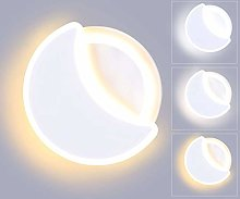 Lightess 18W Indoor LED Wall Light 3 Color Temp
